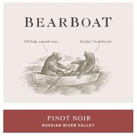 Bearboat Pinot Noir Russian River Valley